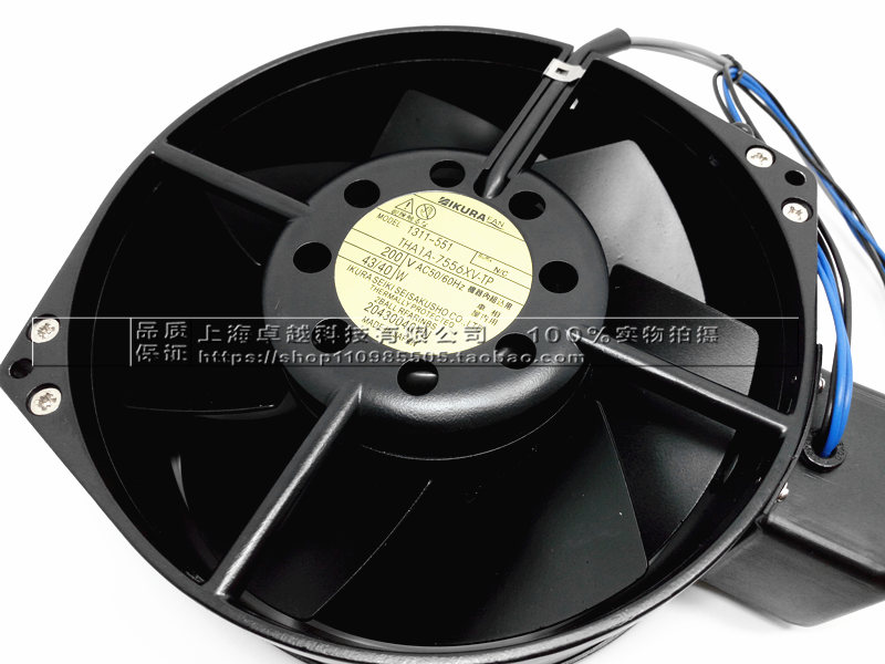 New original THA1A-7556XV-TP 200V all-metal high temperature axial fan direct heating 216 0707005 216 0707009 216 0683008 216 0683013 216 0683010 216 0683001 216pvava12fg 216qmaka14fg stencil