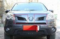 شبكة أمامية من الكروم ABS لرينو كوليوس لموديلات 2009 2010 كسوة لسيارات السباق-في تصميم كروم من السيارات والدراجات النارية على