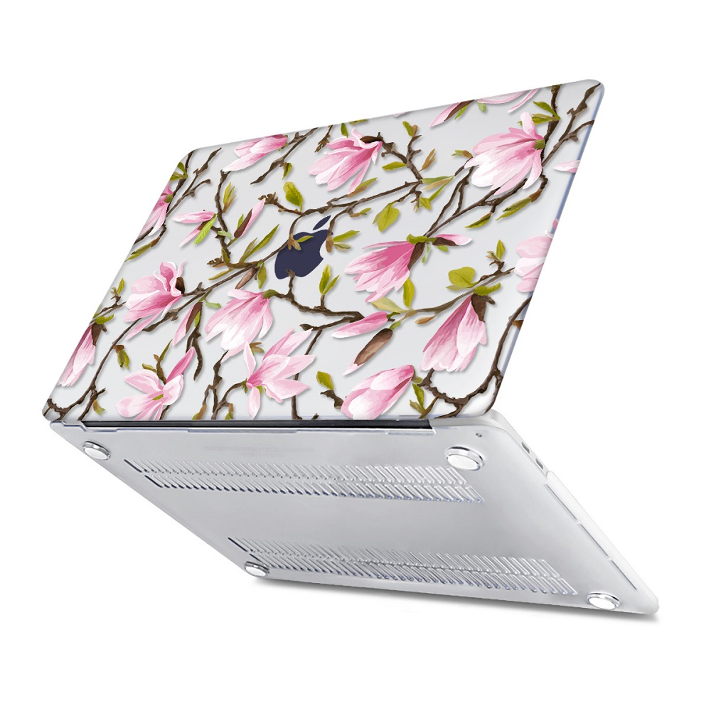 Floral Printing Hard Case for MacBook 130