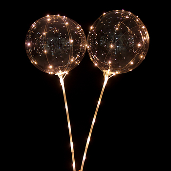 50pcs Helium white led balloon light balloons party decorations kids birthday wedding Decor Supplies 20inch ballon 1
