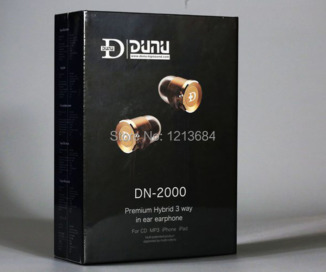 Boxed! DUNU DN2000 Premium Hybrid 3 Ways Balance Armature Dynamic IEMs High Fidelity Ultimate Hifi In-ear Earbuds Earphones цена