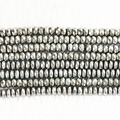 Silver white Magnetic Hematite stone Hot natural New 4X6mm 5X8mm 6X10mm abacus faceted beads loose Beads 15 inches B251