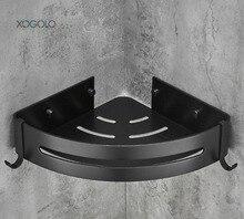 XOGOLO Bathroom Shower Shelf Triangle Wall Caddy Space Aluminum ORB, Oil Rubbed Bronze 6062-1