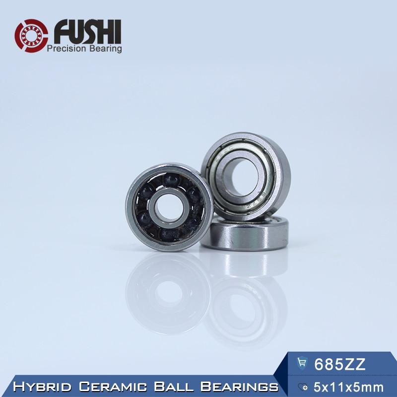 685 Hybrid Ceramic Bearing 5*11*5 mm ABEC-1 ( 1 PC) Industry Motor Spindle 685HC Hybrids Si3N4 Ball Bearings 3NC 685ZZ топор truper hc 1 1 4f 14951