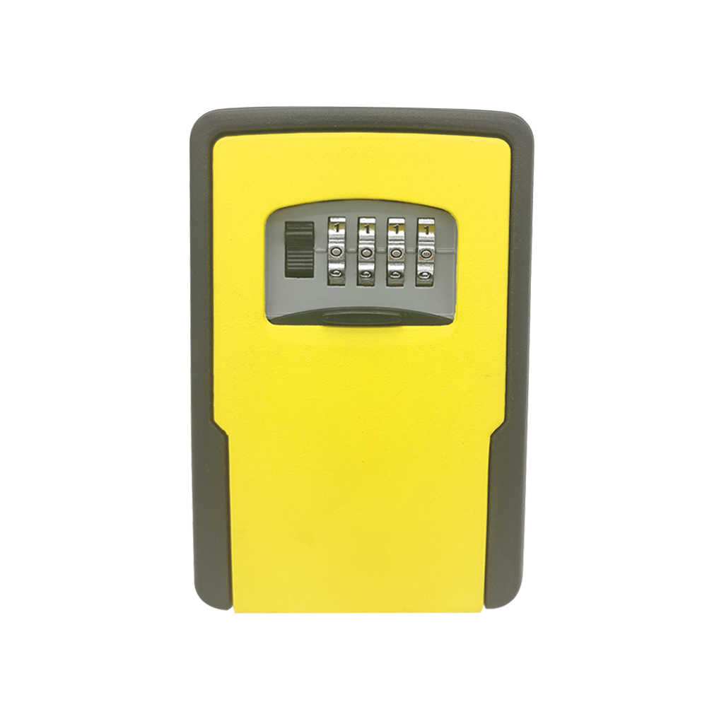 Key Storage Lock Box Wall Mounted Key Lock Box With 4-Digit Combination For House Keys Car Keys For Home Office