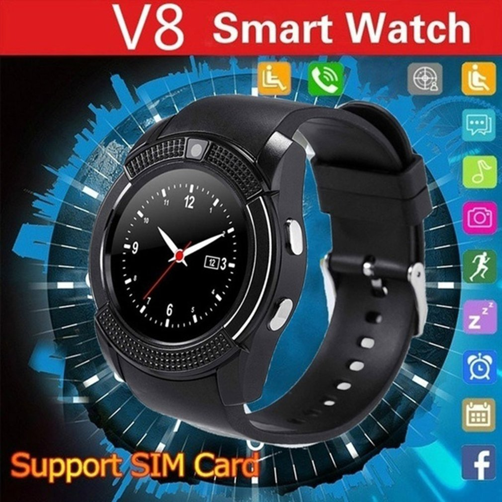 All kinds of cheap motor v8 smartwatch bluetooth smartwatch in All B