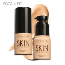Focallure Waterproof Liquid Face Foundation BB Cream Professional Whitening Concealer Makeup Corrector Primer Facial Maquiagem