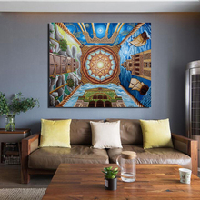 Islamic Art And Architecture Canvas Painting Print Living Room Home Decoration Modern Wall Art Oil Painting Poster Salon Picture