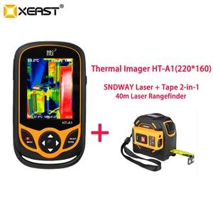 Image 3 - XEAST Thermal Imaging telefon komórkowy HT A1 220*160 rozdzielczość kamera na podczerwień HD narzędzie pomiarowe 100% szybka dostawa z moskwy