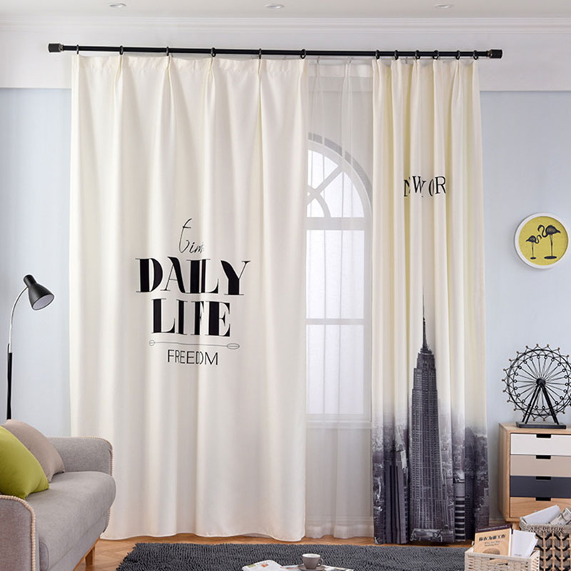 Single Panels Digital Printing 3d Curtains For Living Room ...