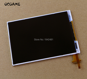 OCGAME 5pcs/lot high quality brand New Lower Bottom Down LCD Display Screen for Nintendo NEW 3DS