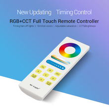 Mi.light RGB/RGBW/RGB+CCT LED Strip Controller DC12V~24V 2.4G Wireless WIFI Smart Panel Remote turn off light timing Dimmer bc wall mounted brightness wireless remote led dimming cct rgb rgbw touch panel controller for led strip light lamp dc12v 24v