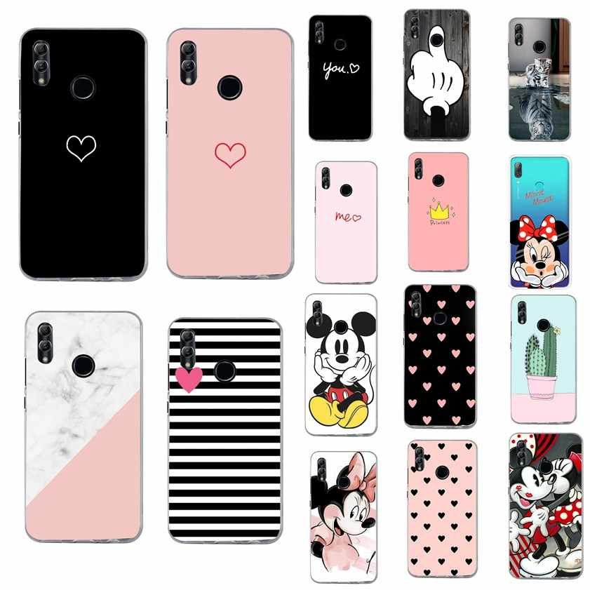 Cover For Huawei P Smart 2019 case cover Silicon phone case For Funda Huawei P Smart 2019 Psmart 2019 POT-LX1 POT-LX3 6.2 inch