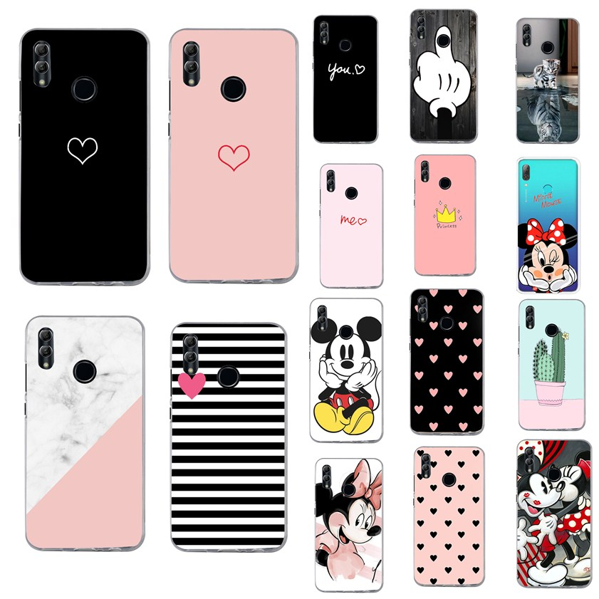 Cover For Huawei P Smart 2019 case cover phone case For Funda Huawei PSmart 2019 Mate20 Mate 20 P30 P20 P40 Lite E Pro Case(China)