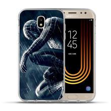 Luxury Marvel Avengers soft Phone Case For Samsung Galaxy J2 J3 J5 J7 Prime 2016 2016 2017 EU G530 Back Cover Coque Etui