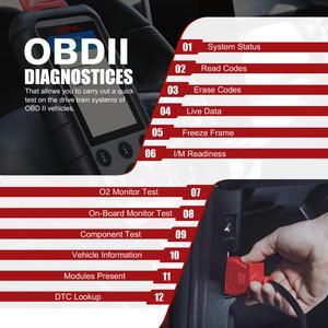 Image 4 - Autel MaxiDiag MD806 obd2 автомобильный сканер, диагностический инструмент для автомобиля scania OBD 2, Профессиональный Автомобильный сканер, Автомобильный сканер