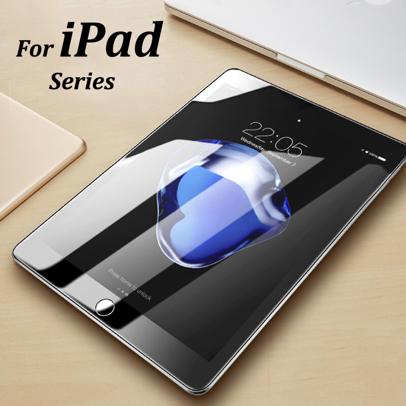 Protective Glass For Ipad Mini Pro Air 1 2 3 4 5 6 2017 2018 7.9 9.7 10.5inch Screen Protector On The For Ipad A1822 A1823 A1893