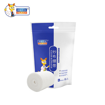 DR.ROOS 8cmx6m 1 roll medical gauze bandage roll first aid kits Accessories for wound hemostasis bandaging home outdoor