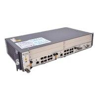 Оригинальный huawei 48 V 19 дюймов OLT GPON OLT MA5608T DC, 1 * MPWC Мощность линии Оптический Терминал, 1 * MCUD 1G плата управления с 16 порт