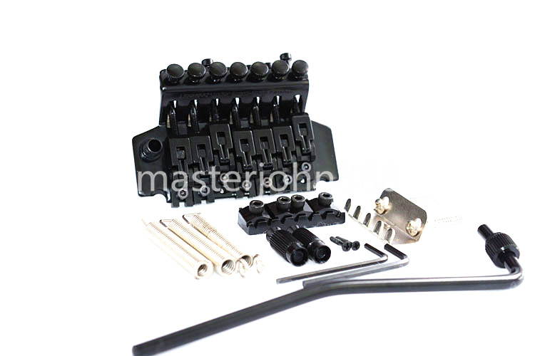 Floyd Rose Electric Guitar Bridge Tremolo Bridge Locking System Gold/Chrome/Black Free Shipping genuine original floyd rose 5000 series electric guitar tremolo system bridge frt05000 black nickel cosmo without packaging