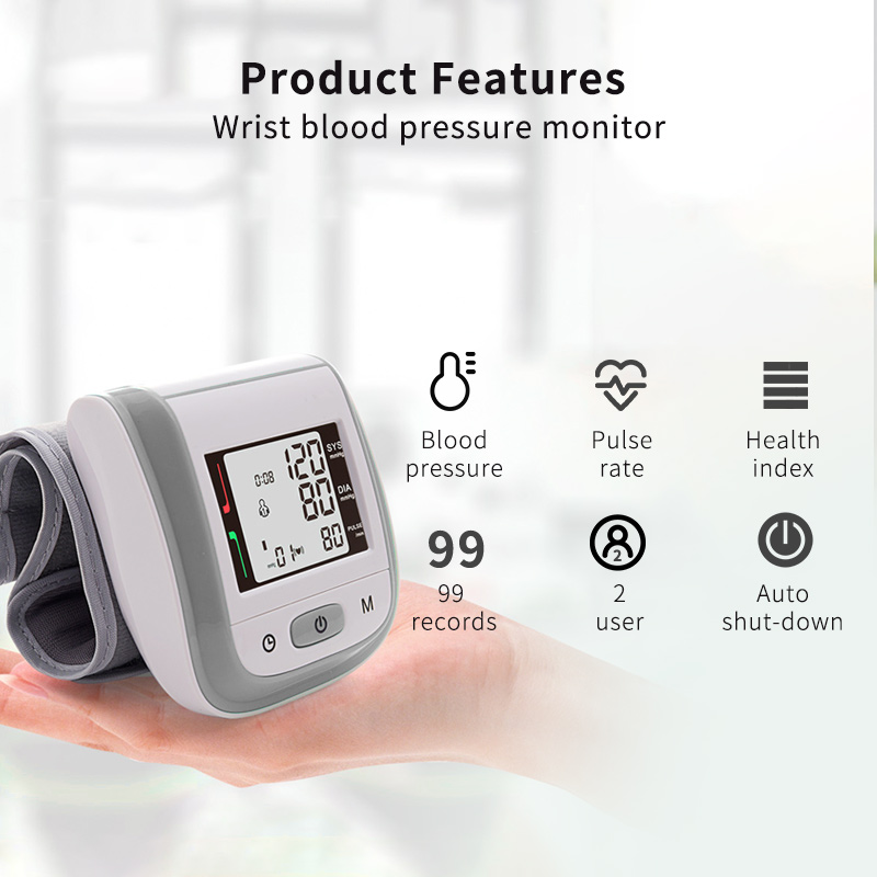 Image 2 - Yongrow OLED Fingertip Pulse Oximeter & LCD Wrist Blood Pressure Monitor & Baby Infrared Thermometer Family Health Care Gift-in Blood Pressure from Beauty & Health