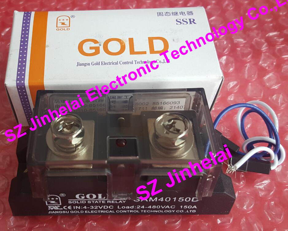 100% New and original SAM40150D GOLD Single-phase industrial solid state relay SSR 150A 24-480V new and original sa34080d sa3 4080d gold solid state relay ssr 480vac 80a