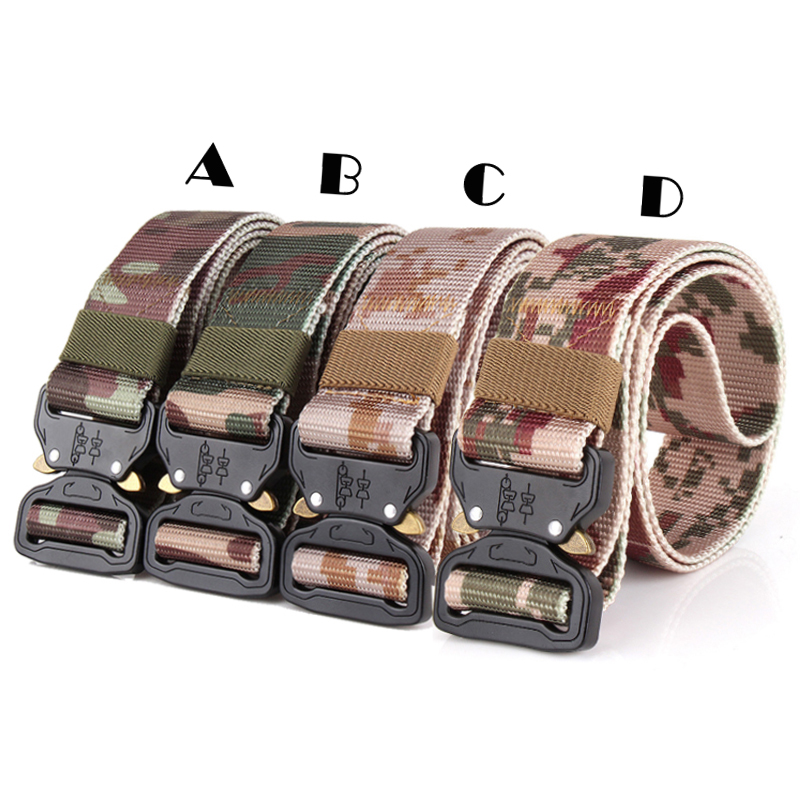 Men's Belts Belt Riggers Buckle Brand Belt Lenght 49 1.5 Width Quick Release Tactical Military Airsoft Emerson Multicam Invigorating Blood Circulation And Stopping Pains