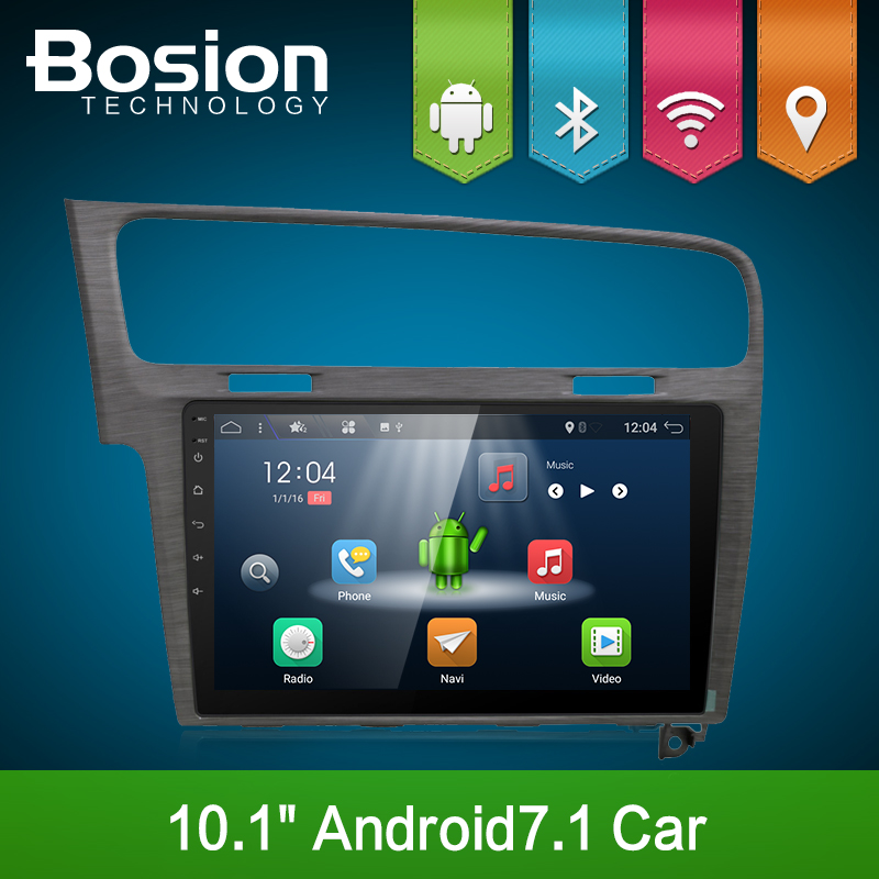 "10.1"" Android Car Multimedia Player GPS For Volkswagen Golf 2013/2014/2015 audio car radio stereo GPS Navi bluetooth wifi"