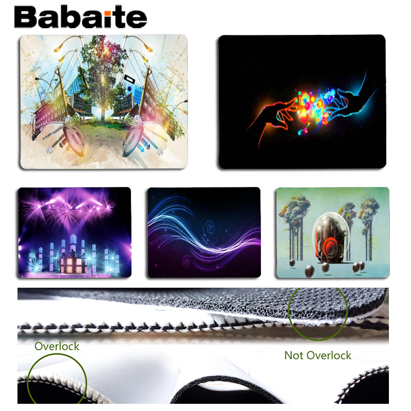Babaite Beautiful Anime Pretty Lights Customized MousePads Computer Laptop Anime Mouse Mat Size for 180x220x2mm Small Mousepad