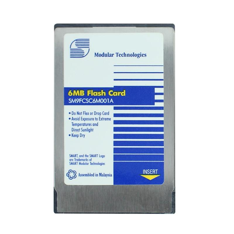 Оригинал! 2 Мб 4 Мб 6 Мб ATA карта PCMCIA флэш-карта PC карта 68 контактов