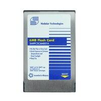 Original!! Cartão da ata pcmcia 6 mb 2 mb 4 mb  placa flash do pc 68 pinos