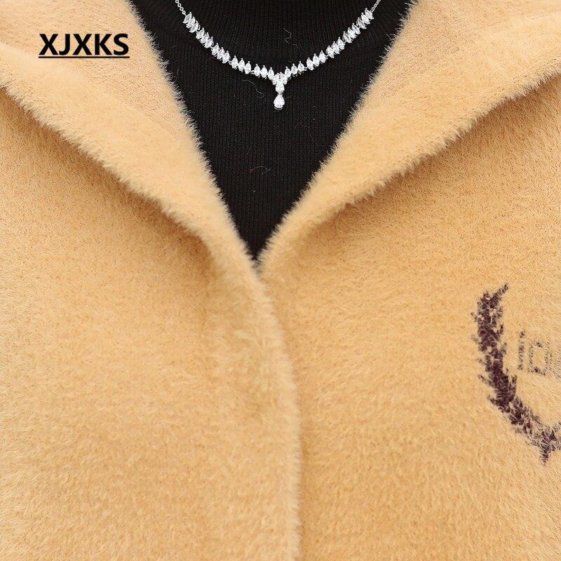 noir Mélange Femmes De Manteaux Beige Nouveautés Nouvelle Lettre 2018 Bouton Manteau Mode Couvert kaki Laine Outwear pourpre Hiver Xjxks qgwdxftaq