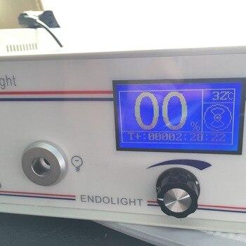 القياسية الإلكترونية المنظار ENT/التنظير مصدر الضوء عالية CRI90 Phlatlight LED medum F2127WH. الألياف البصرية كما هدية مجانية