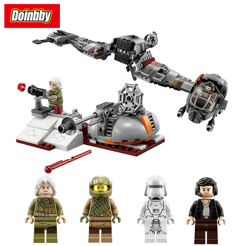 Lepin 05141 Star Series Wars 836Pcs The Last Jedi Defense of Crait Building Block Bricks Toys Kids Gifts Compatible 75202 dark journey star wars the new jedi order