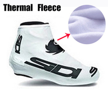 1 pair Winter Cycling Shoe Cover Sneaker Overshoes 12 Colors Fleece Thermal Road Bicycle Bike MTB Winter Cycling SIDI Shoe Cover