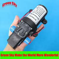 130PSI 5.5l/min 12v dc 80w automatic pressure switch type with cooling fan pressure micro diaphragm water pump