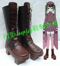 Anime Vocaloid Hatsune Miku Senbonzakura Halloween Girls Cosplay Long Boots Shoes H016
