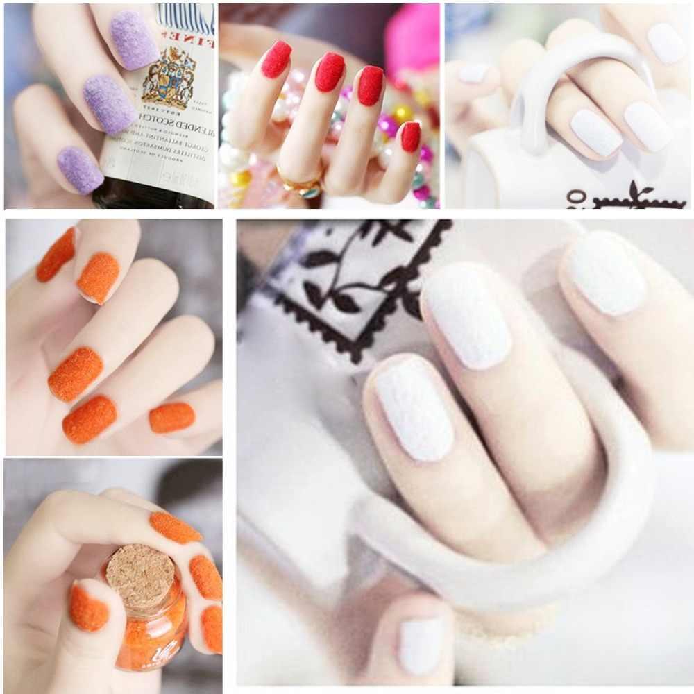 10g difuso flocado polvo colorido para manicura DIY uñas arte consejos decoración de Navidad 10 colores terciopelo uñas brillo polvo