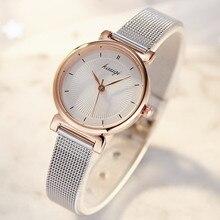 2019 Silver Women Stainless Steel Ladies Bracelet Watch vansvar Brand Elegant Dial Quartz Wrist Watch Clock Gift reloj mujer недорого