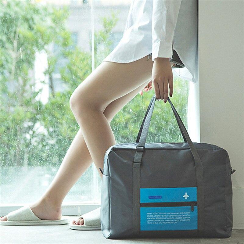 Sports-Bag Packing-Cubes-Organizer Hand-Luggage Nylon Waterproof Unisex for Large-Capacity