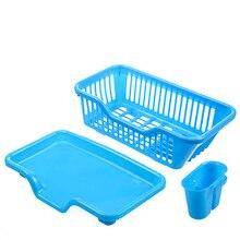Überlegene Küche Regale Schüssel Korb Organizer Küche Spüle Abtropfgestell Wäscheständer Waschen Ablageschale Patent Design BS
