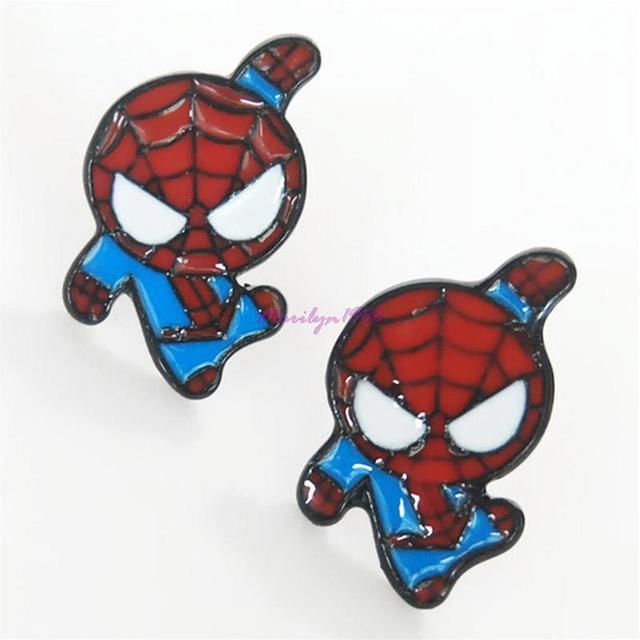 Spiderman Earrings