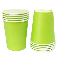 Colorful Paper Cups 10 pcs/lot