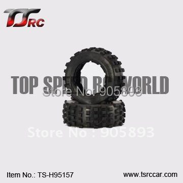 5T Rear Knobby Tire set For 1/5 HPI Baja 5T Parts(TS-H95157),wholesale and retail+Free shipping!!!(Without Inner Foam ) baja front new  knobby tire set 85078