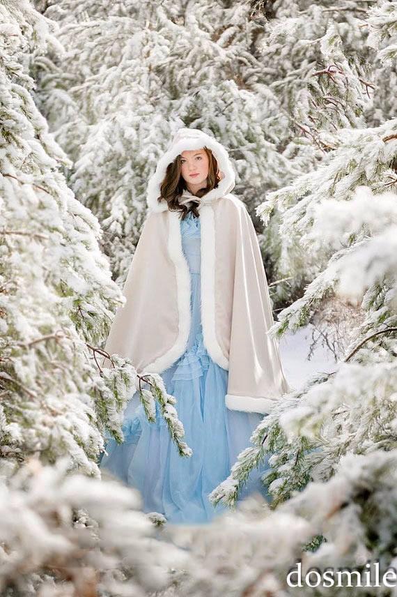 2016-Custom-Made-fur-Classic-Bridal-cape-37-inch-champagne-Ivory-Satin-Middle-Length-wedding-cloak (1)