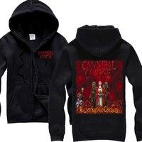 Heavy Metal Cannibal Corpse Device Death Metal Man S New Black HOODIE
