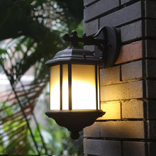 HAWBERRY LED Outdoor American Lawn Garden Villa Park Square Retro Street Courtyard Wall Waterproof European Style Light