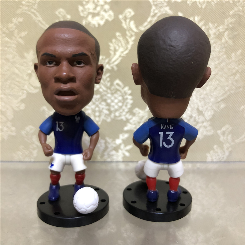 "3pcs//lot Soccer Player Star SALAH /& FIRMINO /& SHAQIRI 2.5/"" Action Dolls Figurine"
