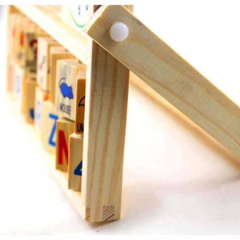 Crianças Bebê Crianças Aprendendo Versátil Flap Ábaco Brinquedos De Madeira crianças brinquedos educativos Developmental aprendizagem brinquedos Divertidos Jogos de matemática