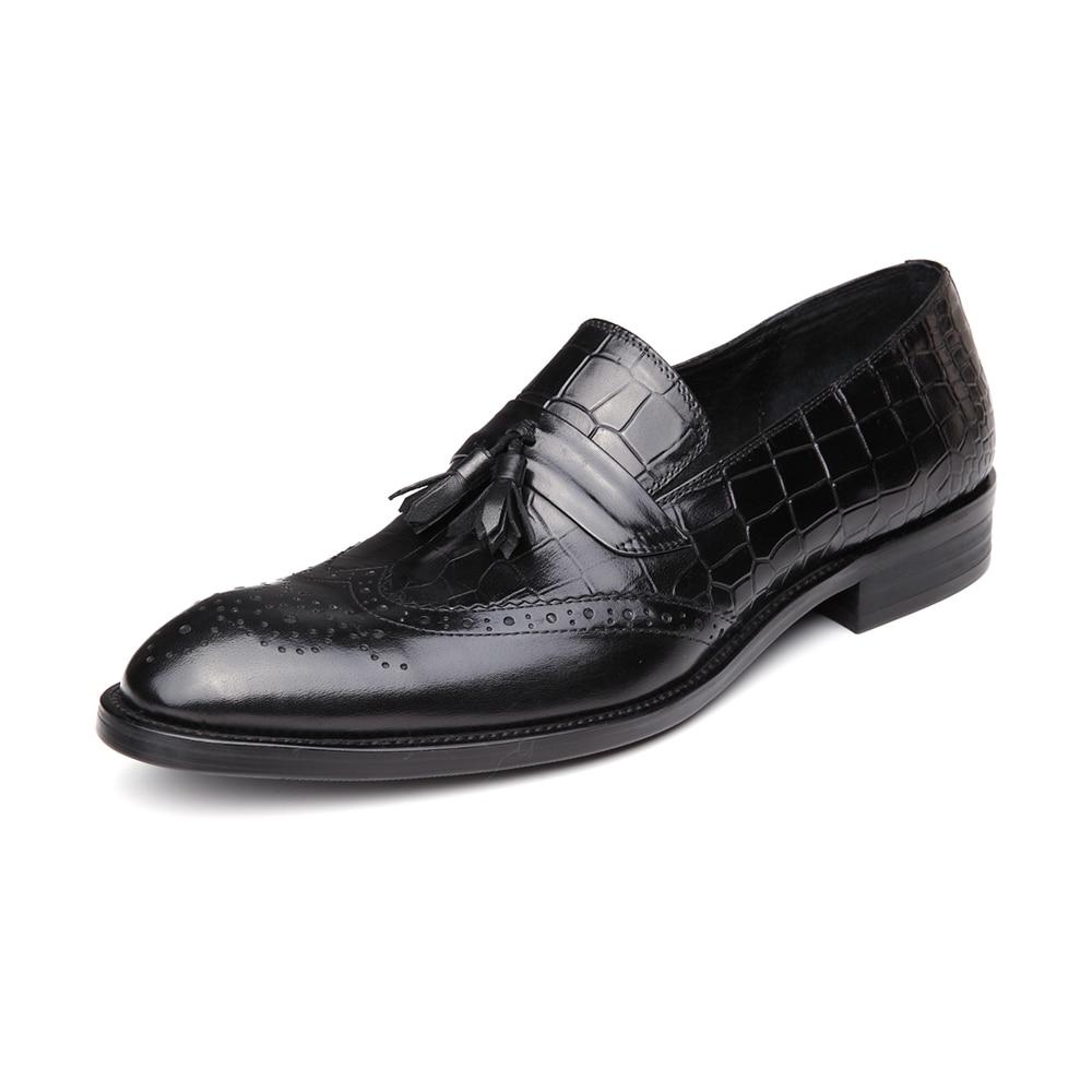 Echtem Qualität Leder Beliebte Hohe Spitz Berühmte Kleid Männer Business Black Aus Schuhe wine Marke Cqtx0qR